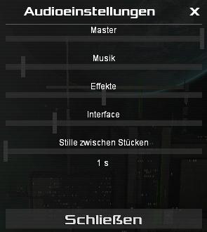 Audioeinstellugnen für individuelle Lautstärke