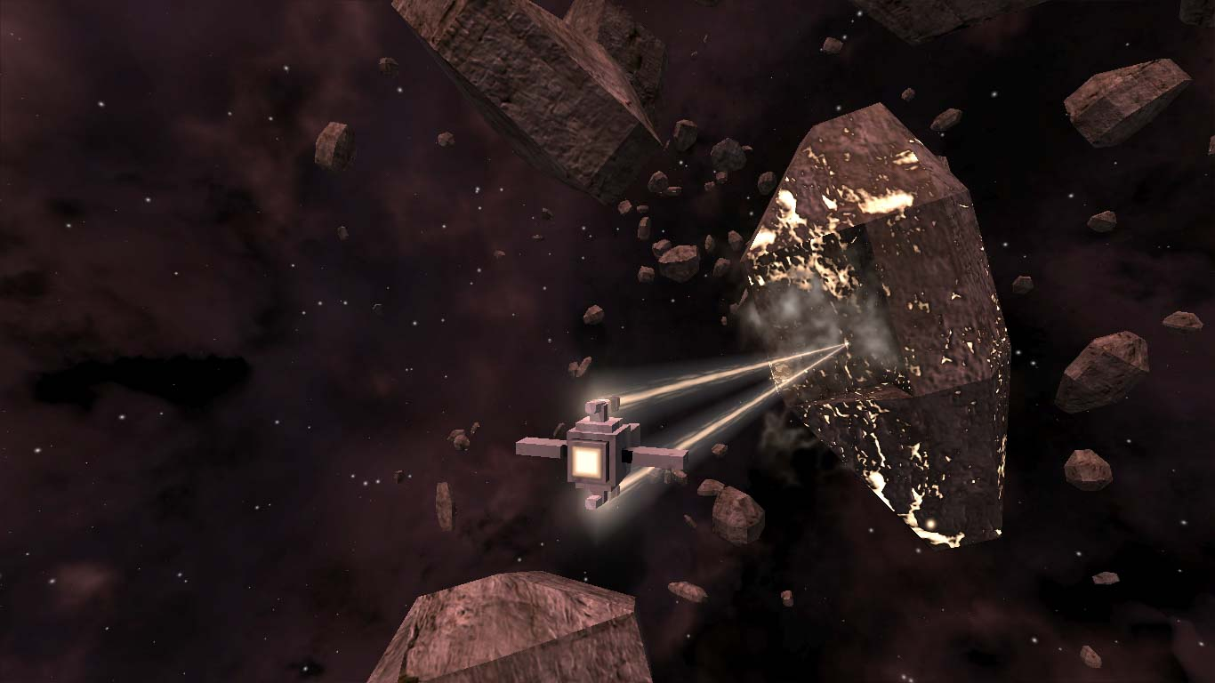 Screenshots Asteroid abbauen